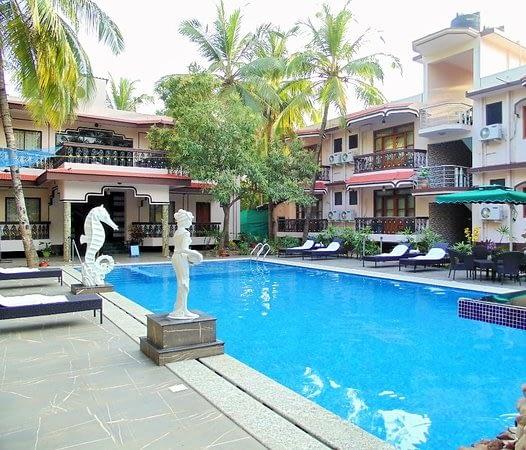 sea aview resort hotel in goa