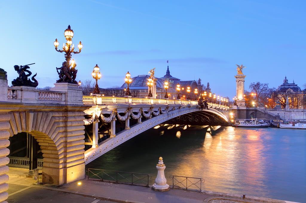 The-beautiful-Pont-Alexander-III bridge