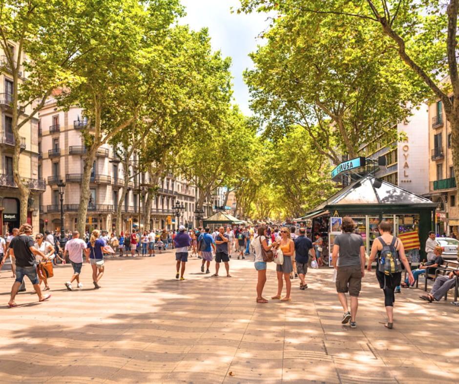 la-rambla-street-in-barcelona Barcelona Attractions