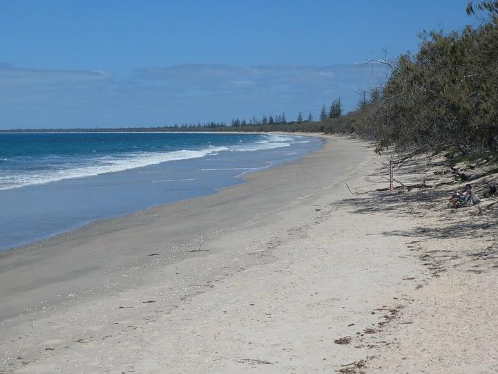 Woodgate beach