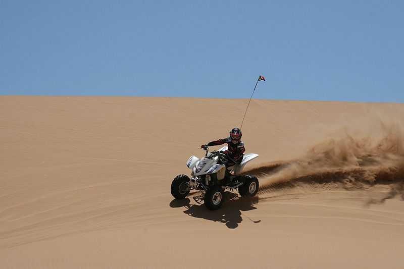 desert bike  in Jaisalmer