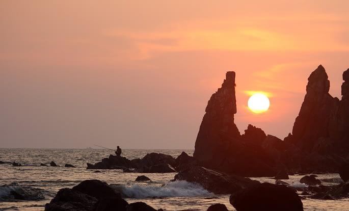 Beach in North Goa