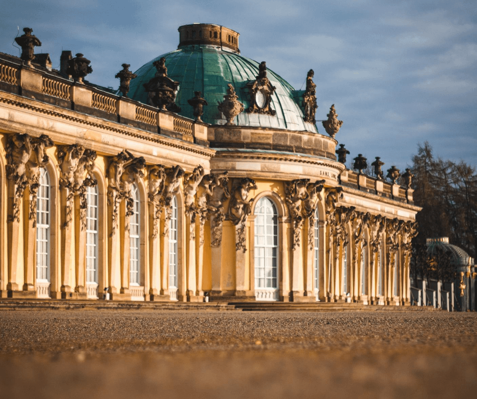 front-view-of-the-sanssouci-palace