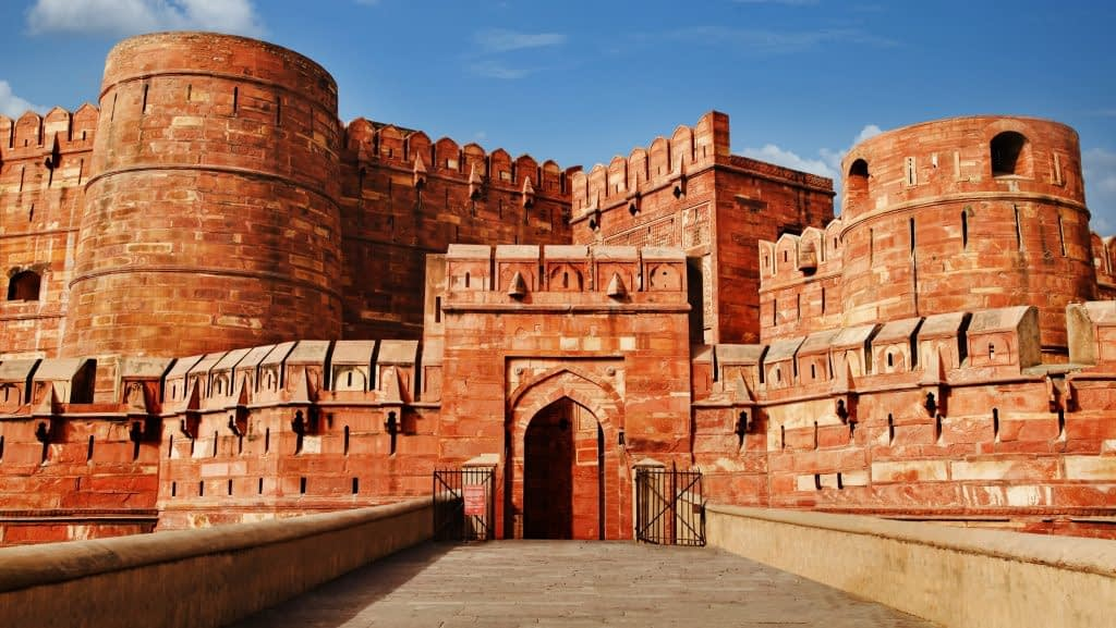 agra fort visit in Agra