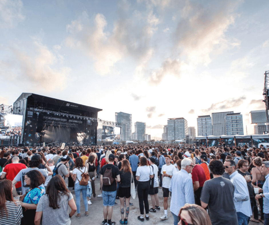 crowded-primavera-sound-music-festival Barcelona Attractions