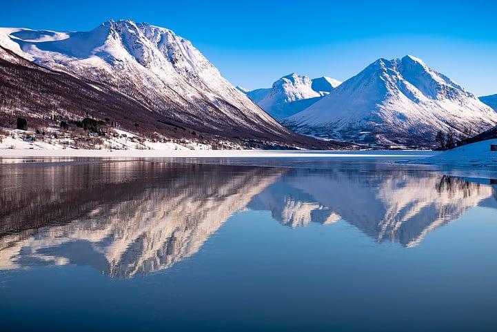 The Tromso Fjords Norway