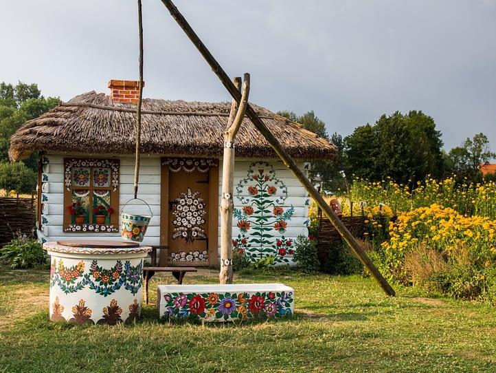 The Zalipie Village