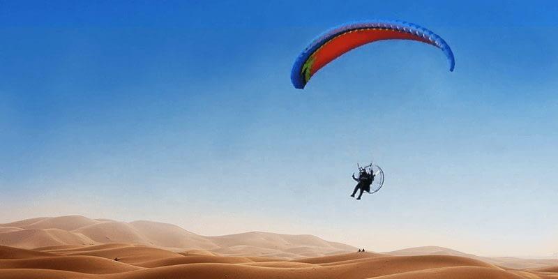 Paramotoring Places to Visit in Jaisalmer
