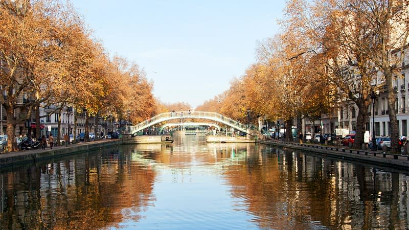 Beautiful-view-of-the-Canal-Saint-Martin