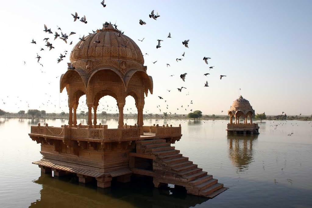 Jaisalmer_Amar_Sagar lake