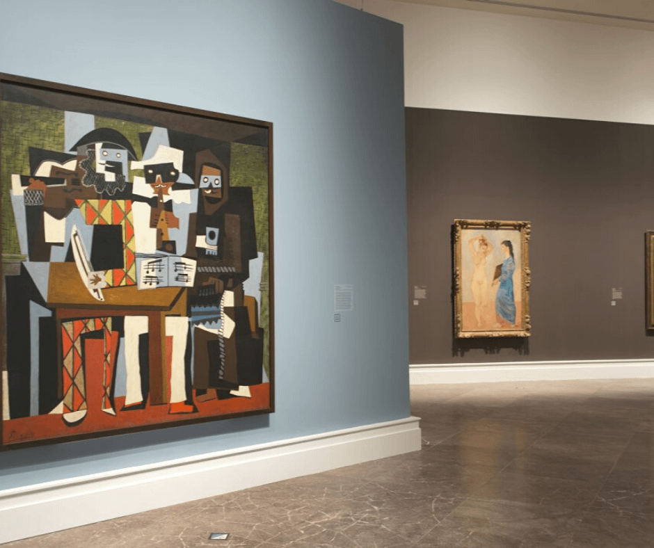 paintings-in-the-picasso-museum Barcelona Attractions