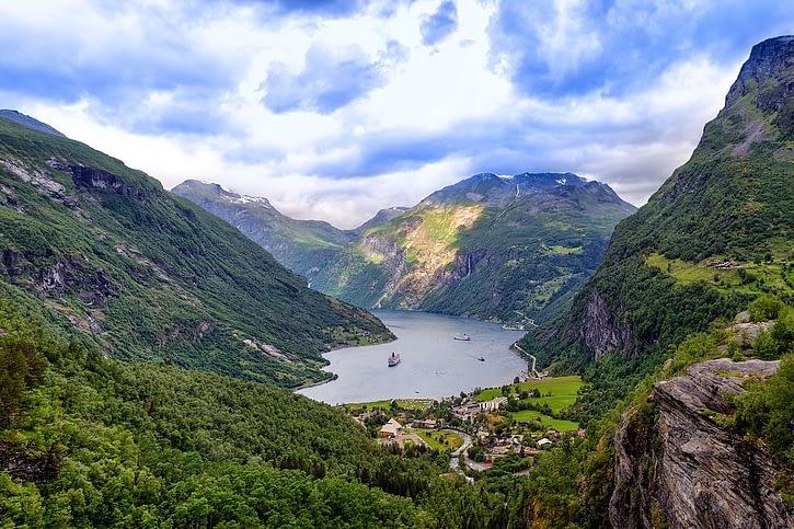 Geirangerfjord region